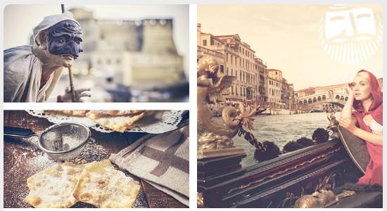 Ernest: скидка 20% на билеты в Италию в период карнавалов в феврале!
