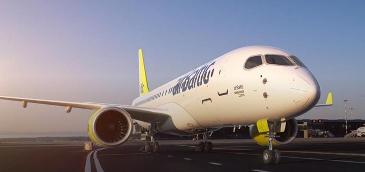 Air Baltic: Киев - Рига от €96 в две стороны, Одесса - Барселона от €145! -