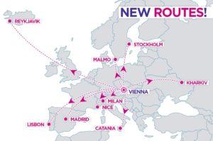Wizz Air откроет новый рейс Харьков - Вена! -