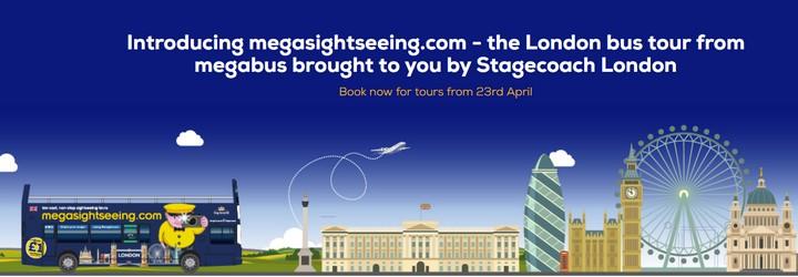 Megabus запускает экскурсии по Лондону от £1! Авиабилеты из Украины от €52 в две стороны! -