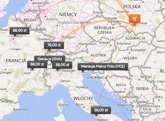 easyJet: из Люблина и Кракова в Италию от €30 в две стороны! Скидка 30% на авиабилеты! -
