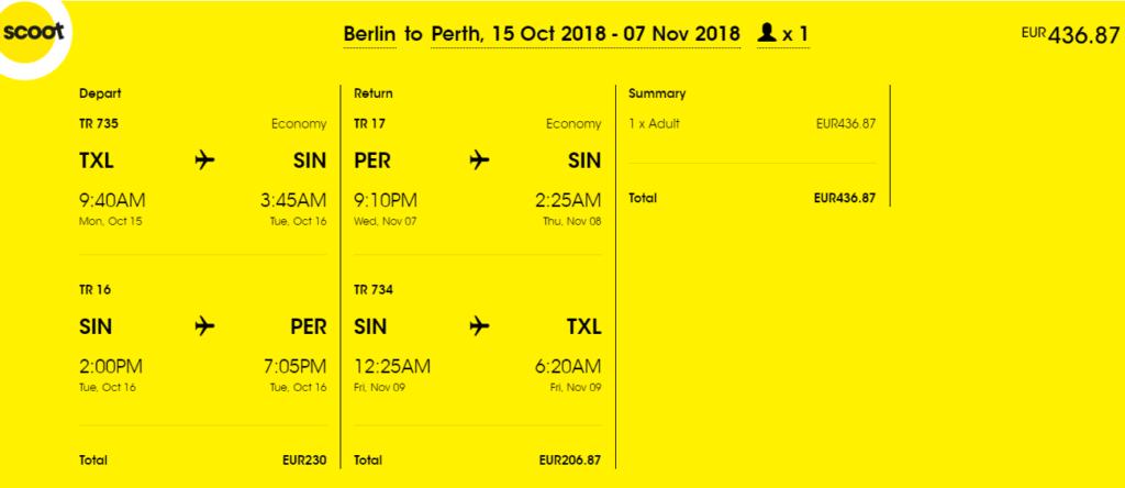 Авиабилеты в Австралию из Берлина от €436 в две стороны, с Украины от €512! -
