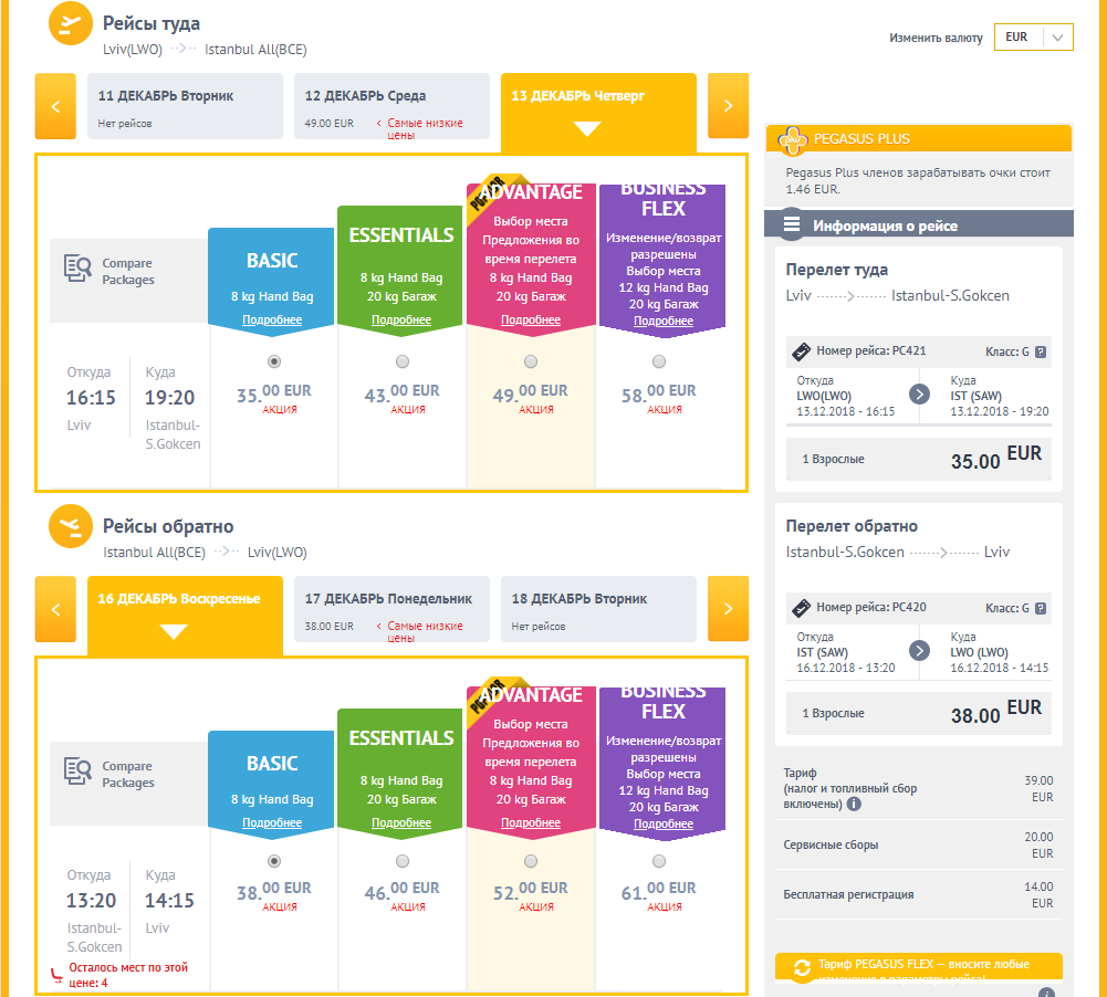 Акция от Pegasus: авиабилеты Украина - Турция от €68 в две стороны! -
