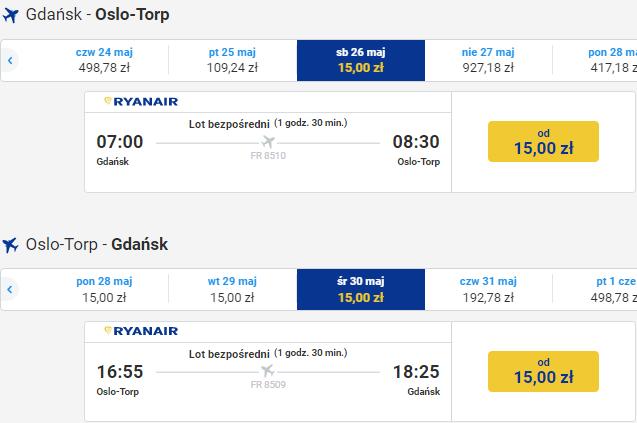 Ryanair: 500000 авиабилетов со скидкой 20%! Из Польши от €3! -