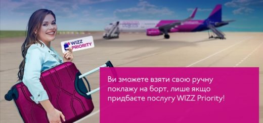wizz air ручна поклажа