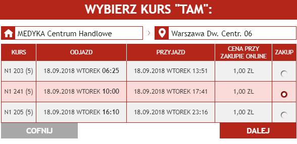 Neobus: билеты в Краков и Варшаву из Перемышля от 14 грн в сентябре! -
