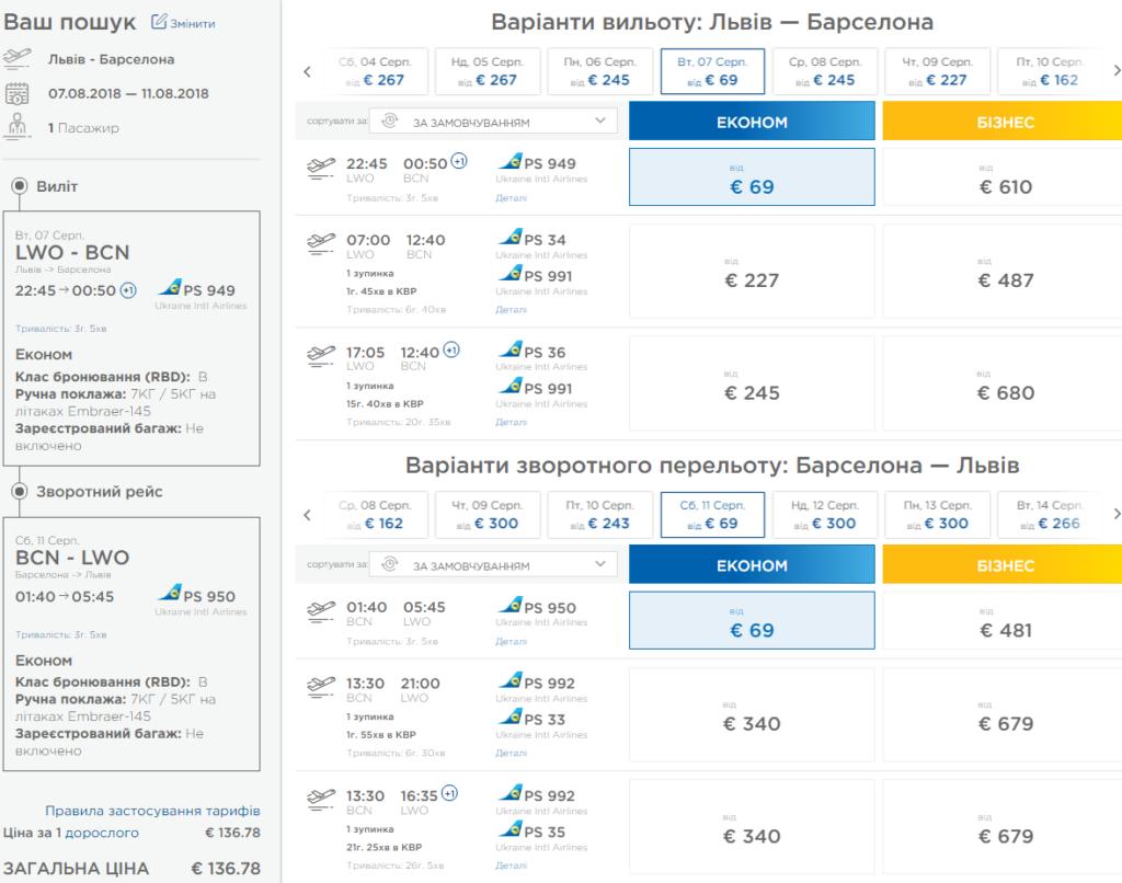 Хит! Прямые рейсы из Львова в Барселону от €136 в две стороны в ЛЕТОМ и осенью этого года! -