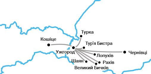 Автобусные билеты Ужгород - Кошице за 1 гривну! -