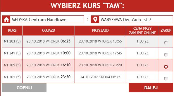 Neobus: авиабилеты из Перемышля в Краков и Варшаву от 1 злотого в октябре! -