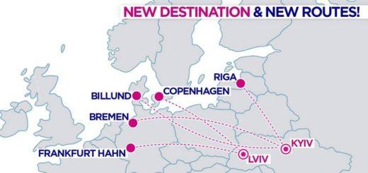 нові рейси львів копенгаген