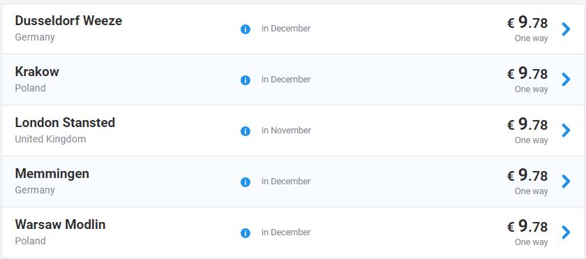 Хелловінський розпродаж Ryanair! Авіа з України від 9 євро ... 6aaa685a3c4da