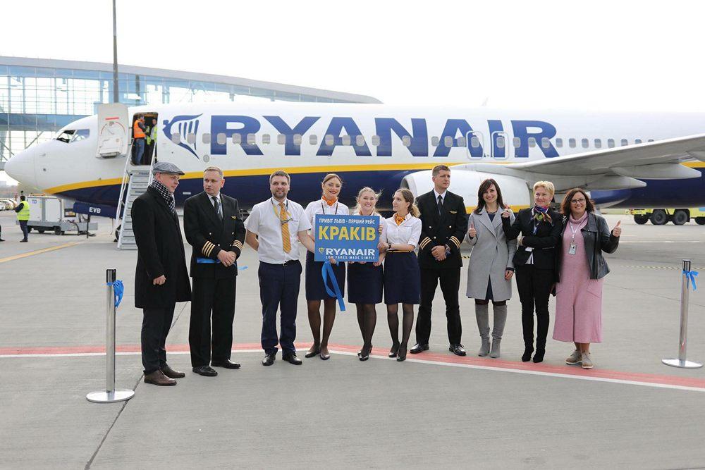 Ryanair виконав перший рейс у Львів! - Lowcost Avia 7b496f31906d6