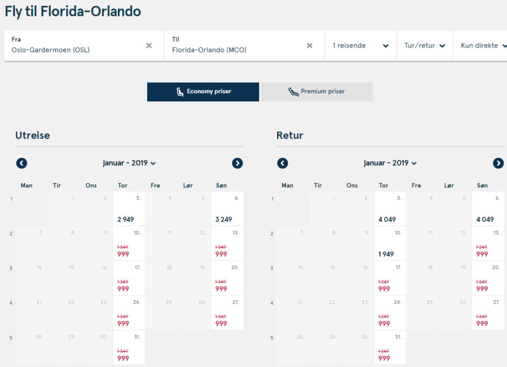 Авиабилеты в Орландо из Стокгольма и Осло от €209 в две стороны! -