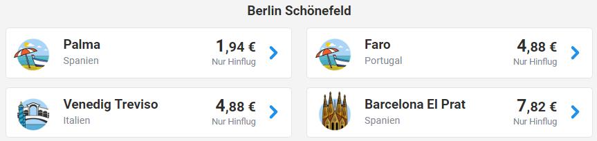 Авиабилеты Ryanair из Берлина в Пальма-де-Майорку от €1,9! В Португалию от €3,9! -