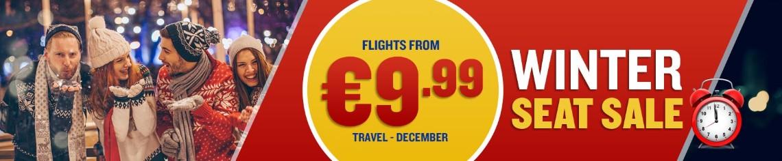 Зараз у Ryanair проходить розпродаж авіаквитків на грудень (а також  січень-лютий) по всій Європі! На багато напрямків з України є квитки від  €9 388c2b6c69f94