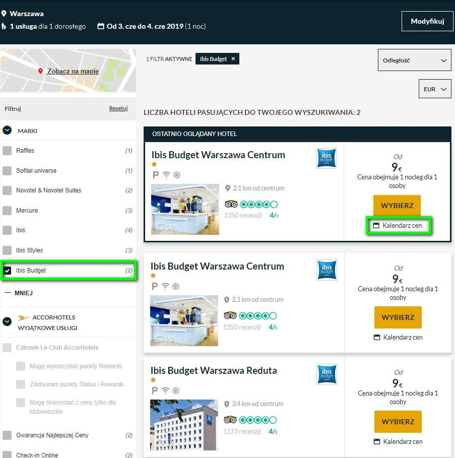 Ibis budget пропонує готельні номери за €9 на двох у містах Польщі ... ef9495b77e87d