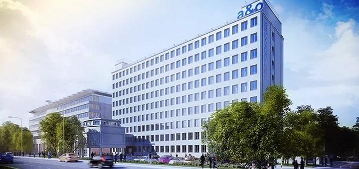 Номера в новом хостеле a&o в Варшаве - от €2,5 с человека! -