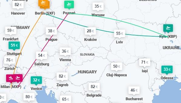 Милан и Берлин в одной поездке из Киева или Львова - от €62 за 4 авиабилеты! -