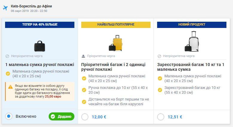 Ryanair збільшив оплату