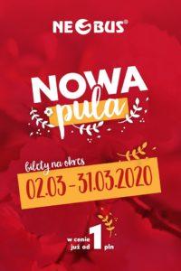 Neobus: автобусные билеты по Польше за 1 злотый на март! -