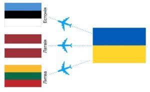 Авиабилеты из Украины в Вильнюс, Ригу и Таллин от €34 в две стороны! -