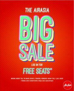 AirAsia: распродажа авиабилетов в пределах Азии от €2,62 в одну сторону! -
