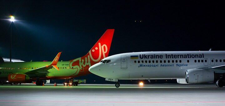 Официально! Украинские авиакомпании SkyUp, МАУ и WindRose приостанавливают регулярные рейсы до 24 апреля! -