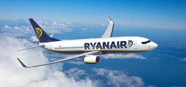 Ryanair разрешил бесплатную замену рейса для новых билетов приобретенных на сентябрь! -