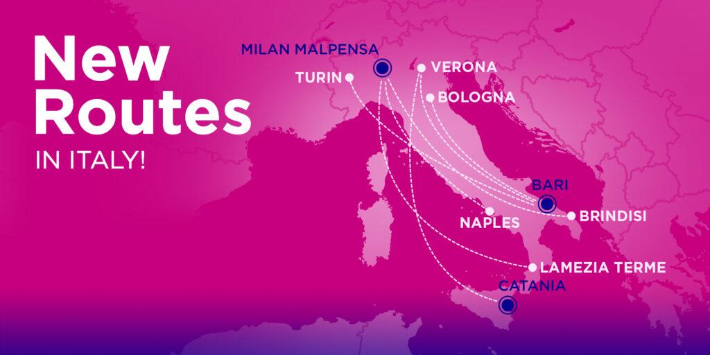 Ryanair и Wizz Air открывают новые рейсы по Италии! Билеты от € 1! -