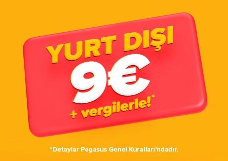 200000 акционных авиабилетов от Pegasus! В Турцию от € 24 в одну сторону! -